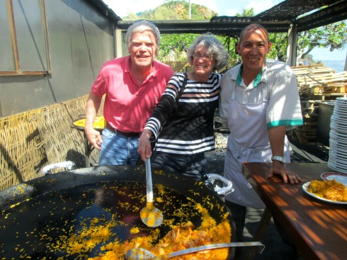 Parents and paella