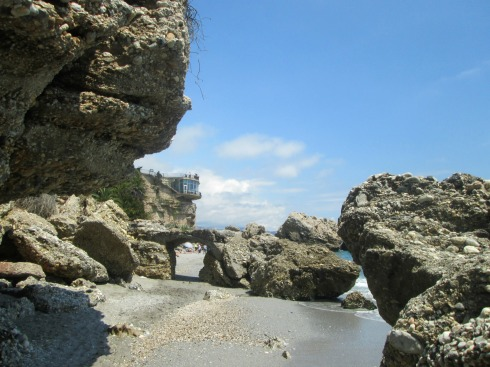 Beach rocks--3